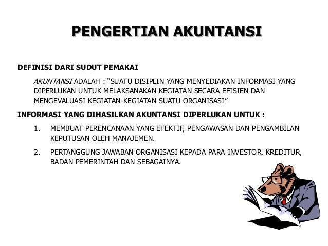 Materi dasar akuntansi  Slide 2