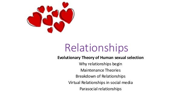 Sexual selection evolutionary psychology
