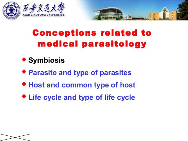 1 general introduction to medical parasitology