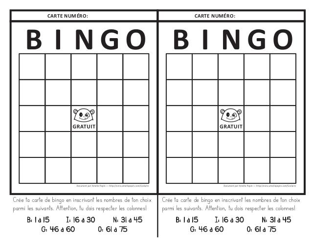 Top 1. bingo vierge TY07