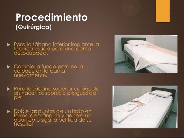 1 1 aseo y confort del paciente for Cama quirurgica