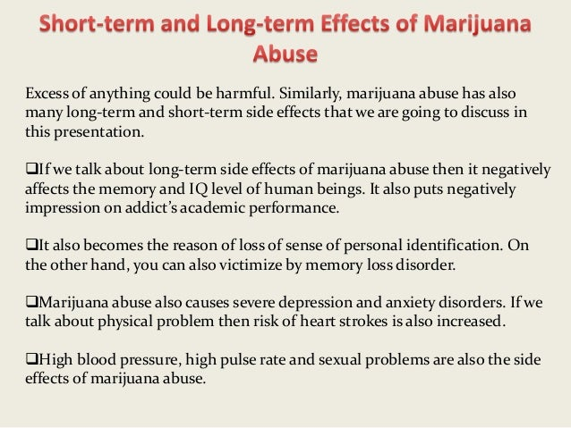 marijuanas effects