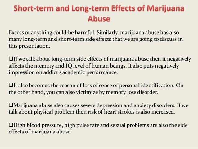 marijuanas effects