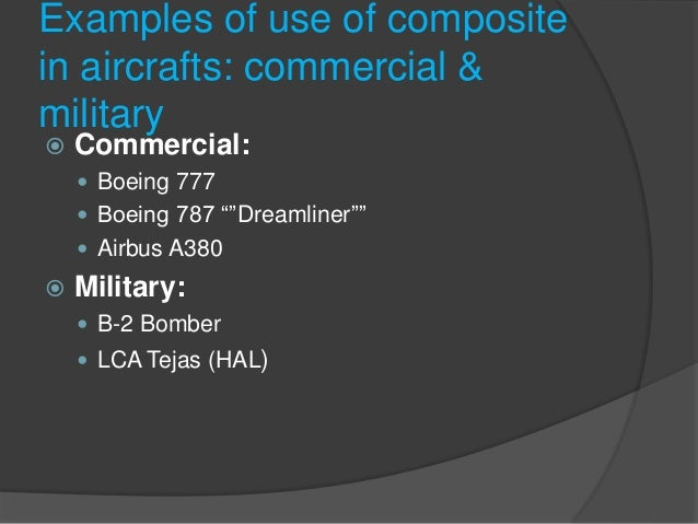 increasing use of composite material in Applications of advanced composites are now increasing in military, industrial  and consumer products the journal of composite materials, continues to be the .