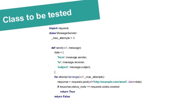 Mock it right! A beginner's guide to world of tests and