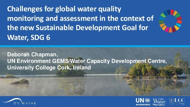 Challenges for global water quality monitoring and assessment in the context of the new Sustainable Development Goal for W...