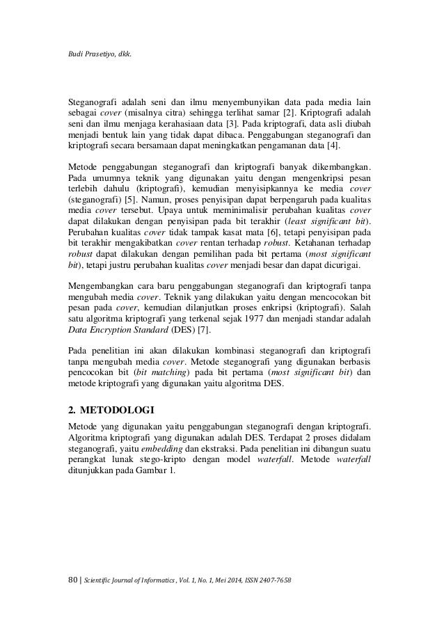 Jurnal Journal Kombinasi Steganografi Berbasis Bit Matching Dan Kr