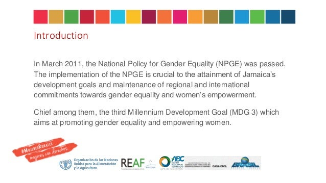 national policy for the empowerment of women 2011