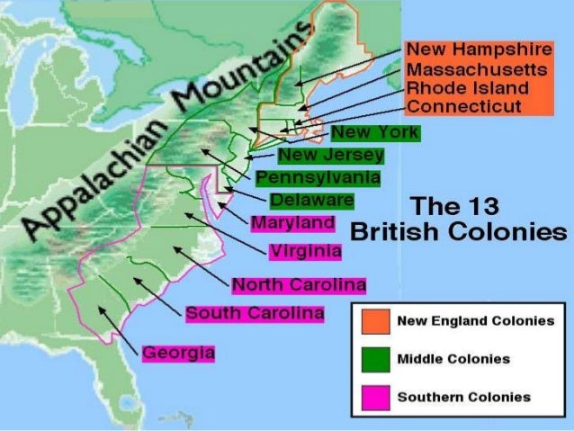1.2 southern ne middle colonies