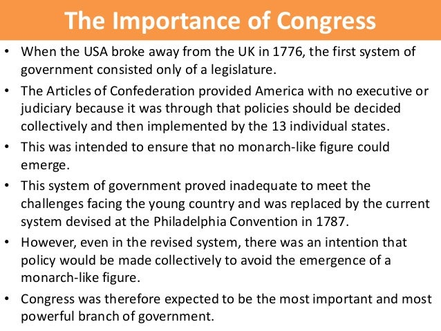 an analysis of the constitutional powers of the congress Basic constitutional analysis  delegated powers a congress b  allocation of powers constitutional law ii that focuses on individual liberties such as equal.