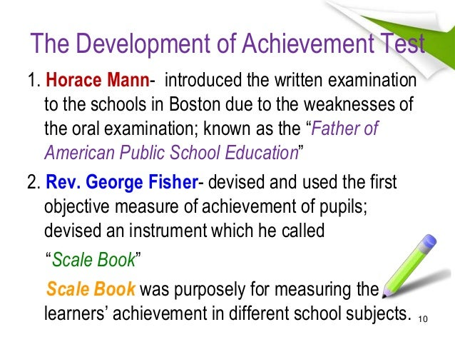1 History Of Measurement And Evaluation