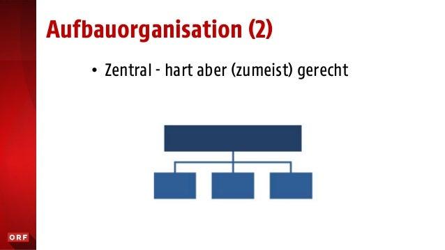 """• Holistisch - """"die Streber-Methode"""" Aufbauorganisation (4) v"""