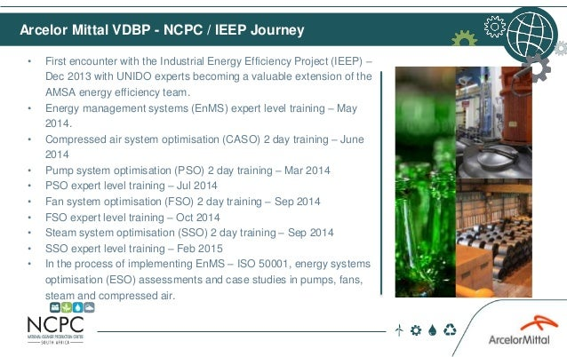 • First encounter with the Industrial Energy Efficiency Project (IEEP) – Dec 2013 with UNIDO experts becoming a valuable e...