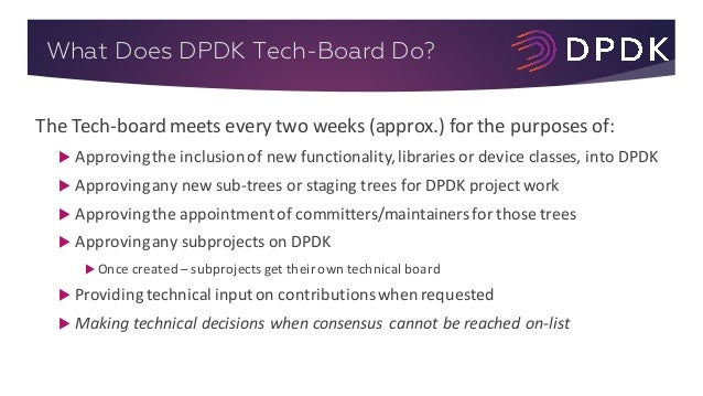 LF_DPDK17_Technical Roadmap