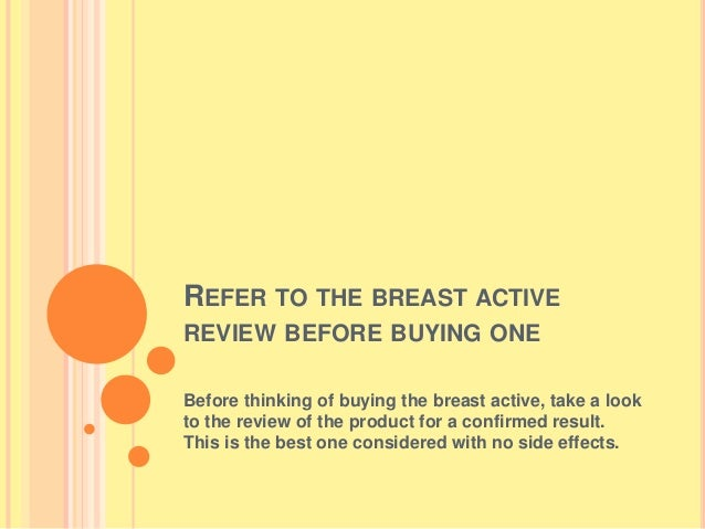 Breast Actives Review Incredible Benefits Of This Breast Enhancement
