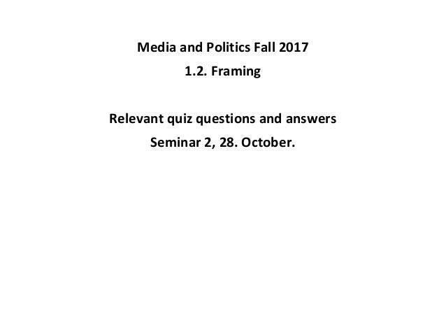 1.2. Framing /Quiz)