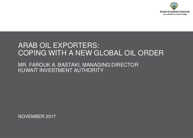© TICG – A Kuwait Investment Authority, Kuwait Fund For Arab Economic Development & Oliver Wyman Joint Company NOVEMBER 20...