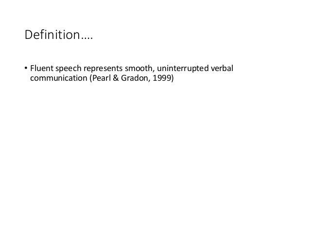 Definitionu2026. U2022 Fluent ...