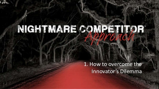Rocking Business Innovation | 1© NC-Creators 1. How to overcome the Innovator's Dilemma