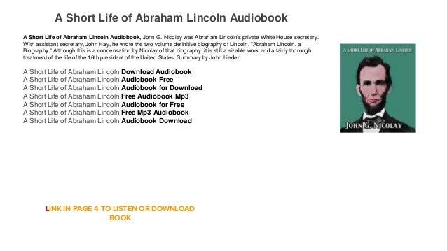 abraham life summary