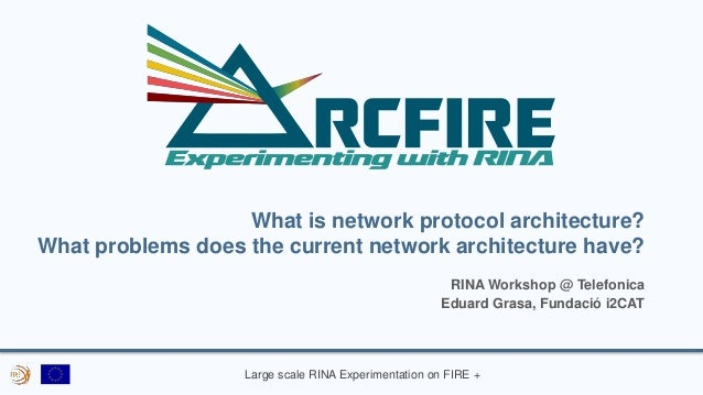 Large scale RINA Experimentation on FIRE + What is network protocol architecture? What problems does the current network a...
