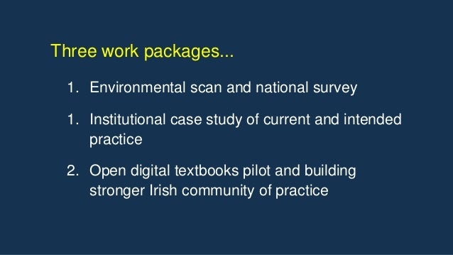 • 27K digital learning resources • Approximately €5m on the NDLR service • Demise remains a sensitive issue in Ireland