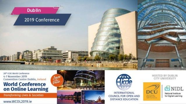 2019 Conference Dublin