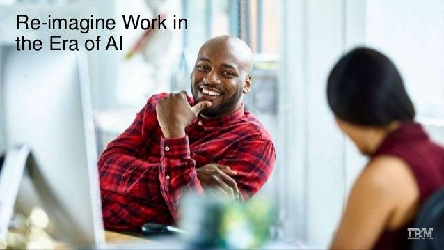 Re-imagine Work in the Era of AI