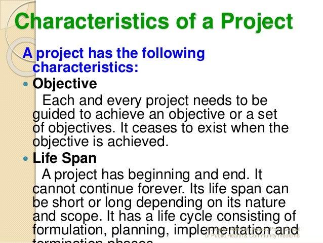 Concept Of Project Management