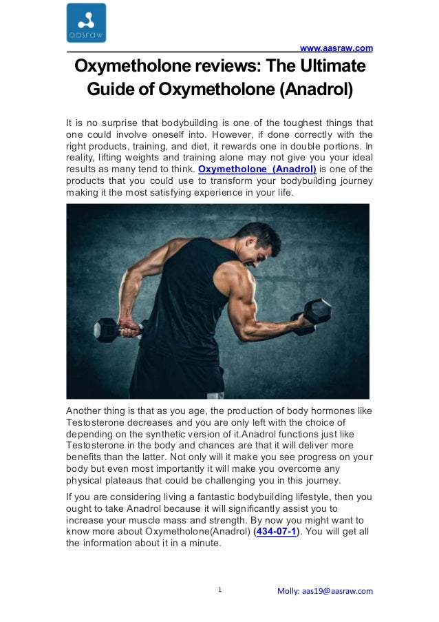 oxymetholone reviews the ultimate guide of oxymetholone