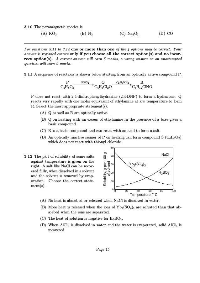 NEST 2013 Question Paper