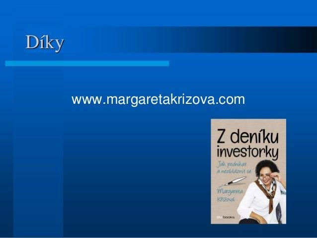 Díky www.margaretakrizova.com