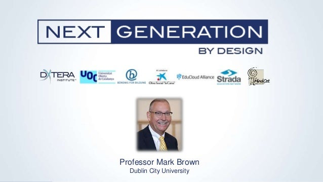 Professor Mark Brown Dublin City University