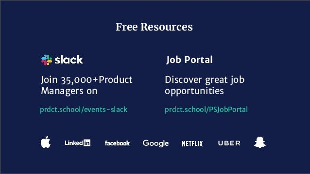 Join 35,000+Product Managers on Free Resources Discover great job opportunities Job Portal prdct.school/PSJobPortalprdct.s...