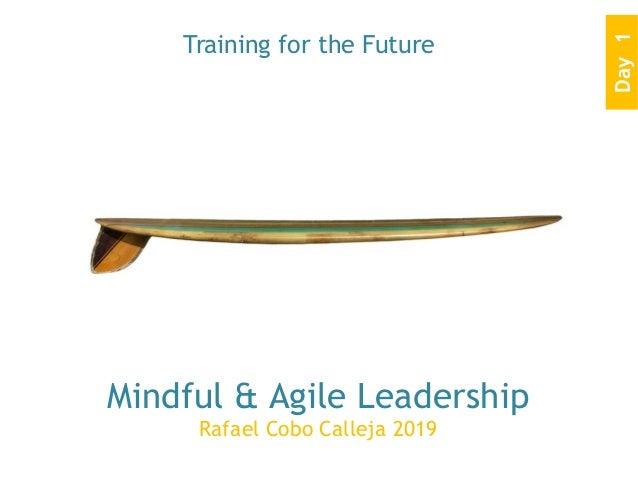 Mindful & Agile Leadership Rafael Cobo Calleja 2019 Training for the Future Day1