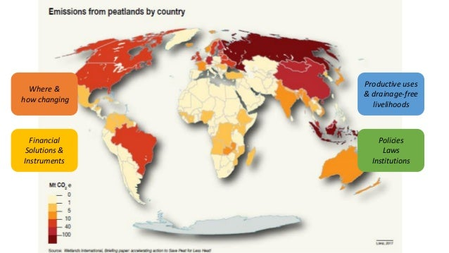 An Initiative to save peatlands as the world's largest terrestrial organic carbon stock Slide 3