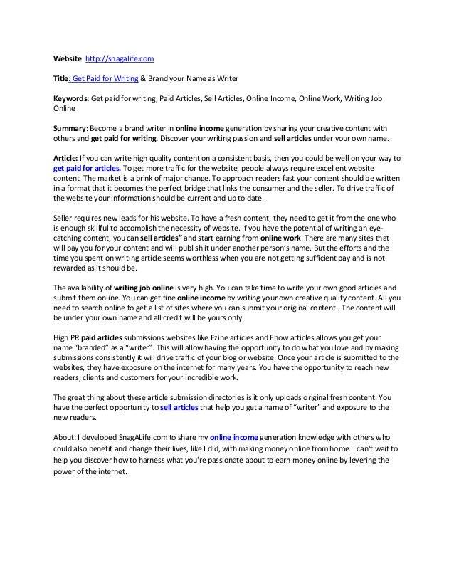 elcome to WriterBay.com!