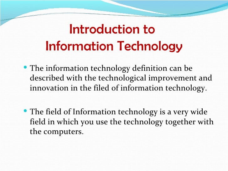 an analysis of the development of computers and information technology Suggested citation:the use of information technology in researchnational academy of sciences, national academy of engineering, and institute of medicine 1989 information technology and the conduct of research: the user's view.