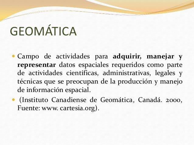 1.1 levantamientos de información geográfica Slide 2