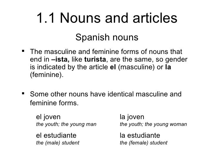 1.1 nouns and articles