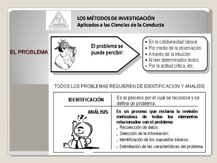 Mcs Novahia Alvarez Sanchez  EL PROBLEMA