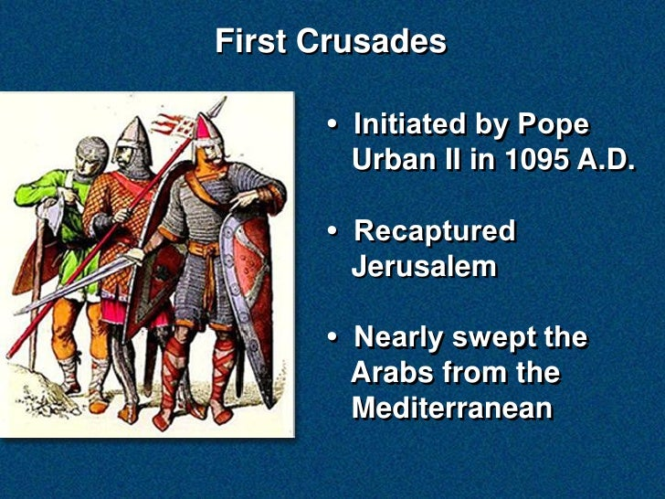 the military expeditions undertaken by western european christians between 1095 and 127 Note: many of our articles have direct quotes from sources you can cite, within the wikipedia article this article doesn't yet, but we're working on it.