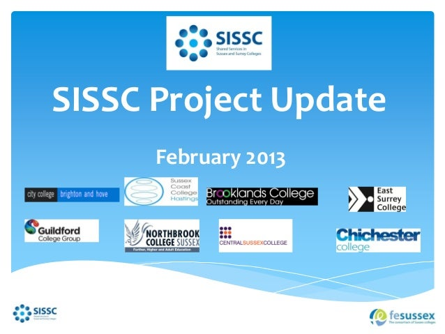 SISSC Project Update      February 2013