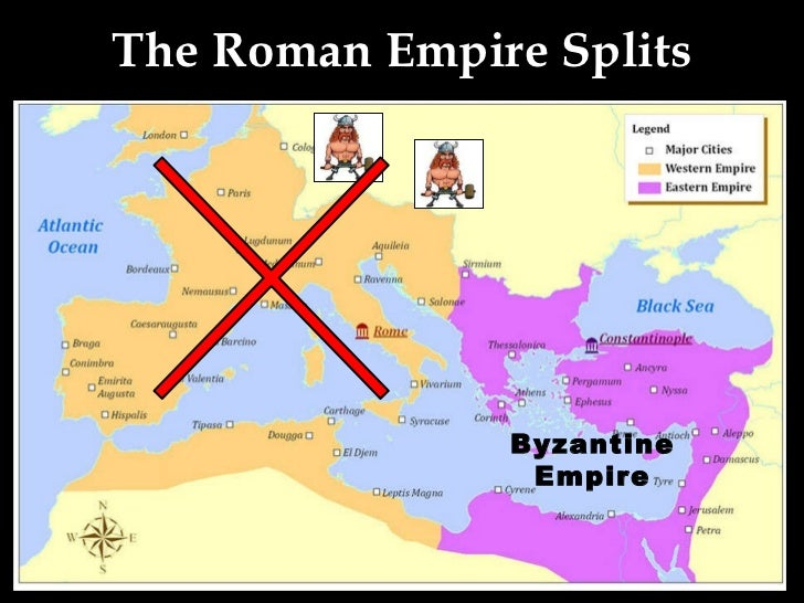 differences between the roman and byzantine empire Only one part of the roman empire ended - the part that was centred around rome the roman empire grew too big to govern from one capital, so it was decided to concentrate government for the western roman empire in rome, and government for the eastern roman empire in byzantium.