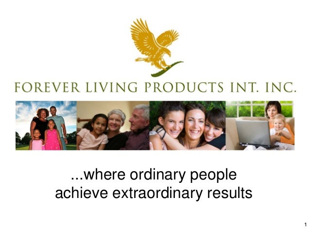 1 ...where ordinary people achieve extraordinary results