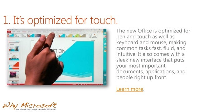12 Reasons You'll Love the New Microsoft Office Slide 3