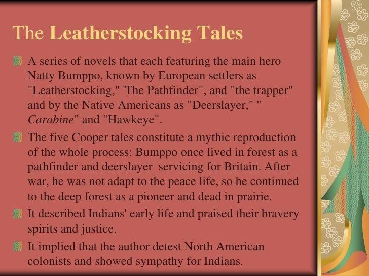 the tragedy of the indian nation in james coopers the pioneers American frontier and the drama of the french and indian war to vivid life the pioneers james fenimore cooper the pioneers older struggles between nations of.