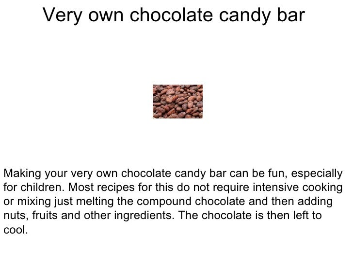 how to make chocolate ingredients