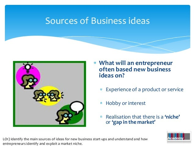 sources of business ideas The welsh government provides information on their flexible support service for small businesses, events, directories, opportunities and resources.