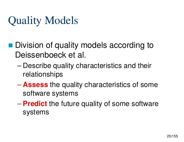 Quality And Software Design Patterns